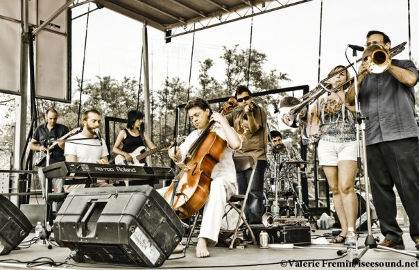 The Tiny Tin Hearts play the Hot Sauce Festival in Austin. Photo by Valerie Fremin