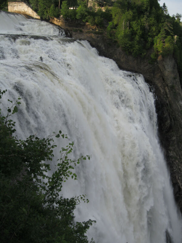 Montmorency Falls from the western overlook