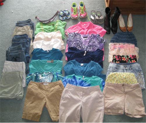 Marathon thrift shopping
