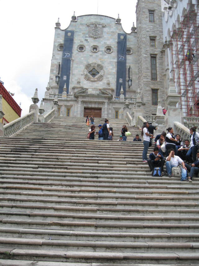 Guanajuato, one of the steepest cities I've ever seen.