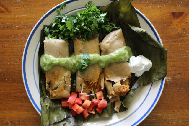 Spend little on groceries; make awesome food like homemade tamales? Yes, please.
