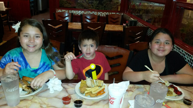 The kids' favorite Chinese restaurant. Celebrating great grades on Q3 report cards.