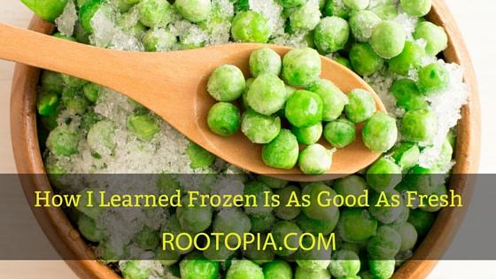 frozen is as good as fresh
