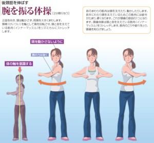 頭痛に良い体操