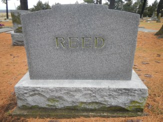 Headstone for James R. Reed, Falls City, Neb.
