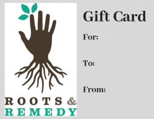 Purchase a gift card for a loved one to used towards any of our services.