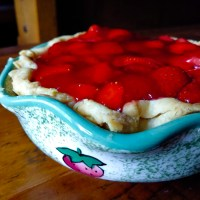 Strawberry Pie from Scratch