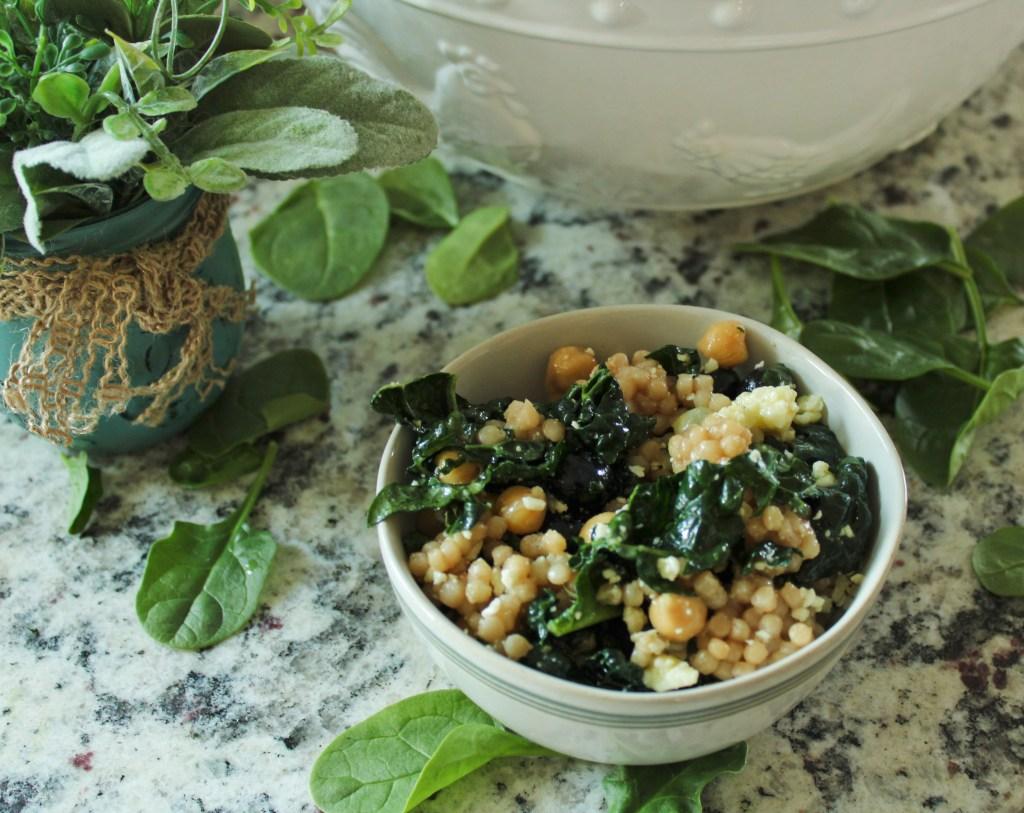 Blueberry Kale Couscous Salad