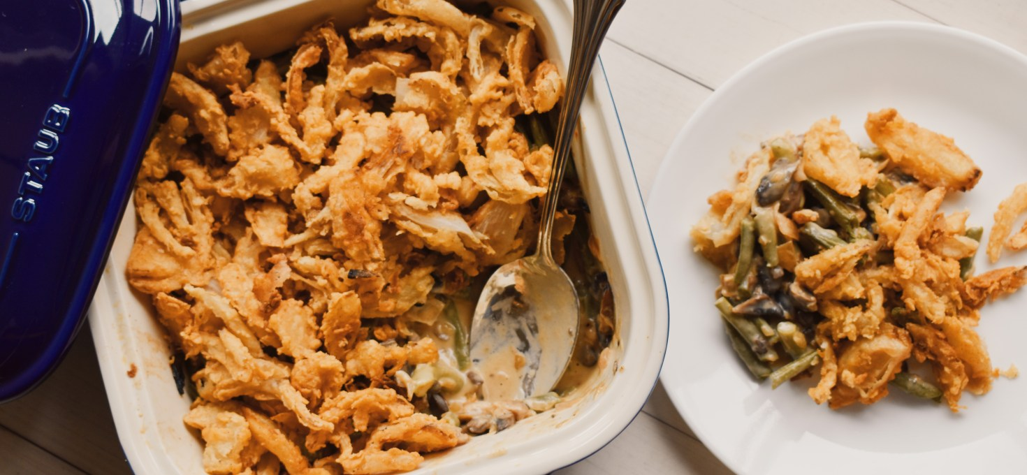 Green Bean Casserole from Scratch {No-Bake}