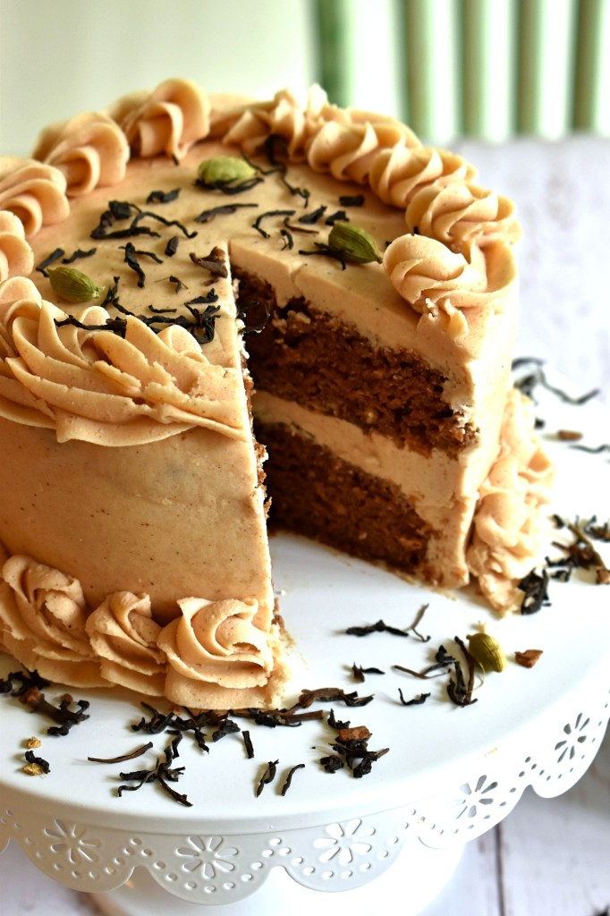 Chai Tea Latte Cake