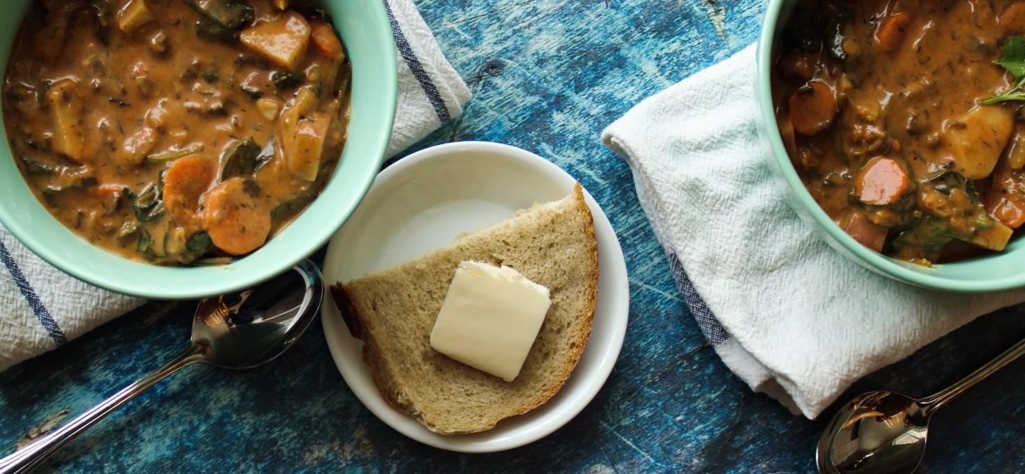 Hearty Vegan Vegetable Soup