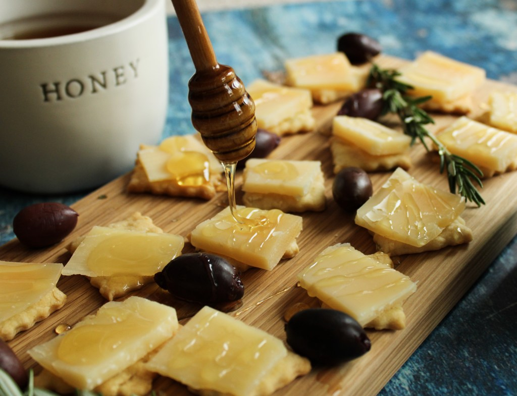 Drizzle of honey