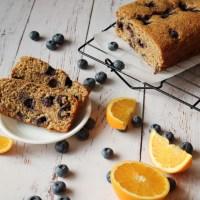 Vegan Blueberry Orange Bread