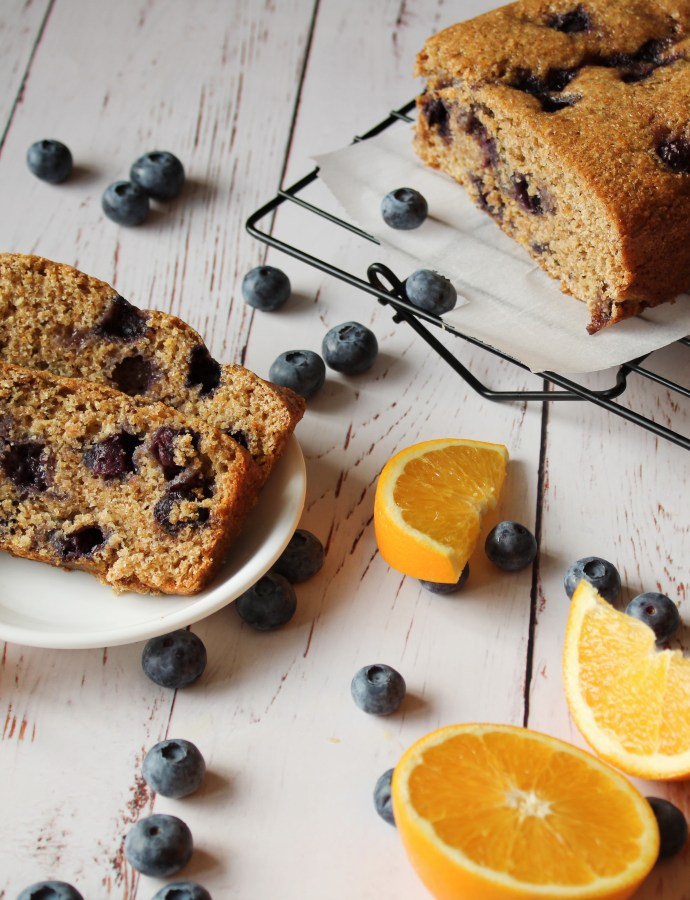 Vegan Blueberry Orange Bread