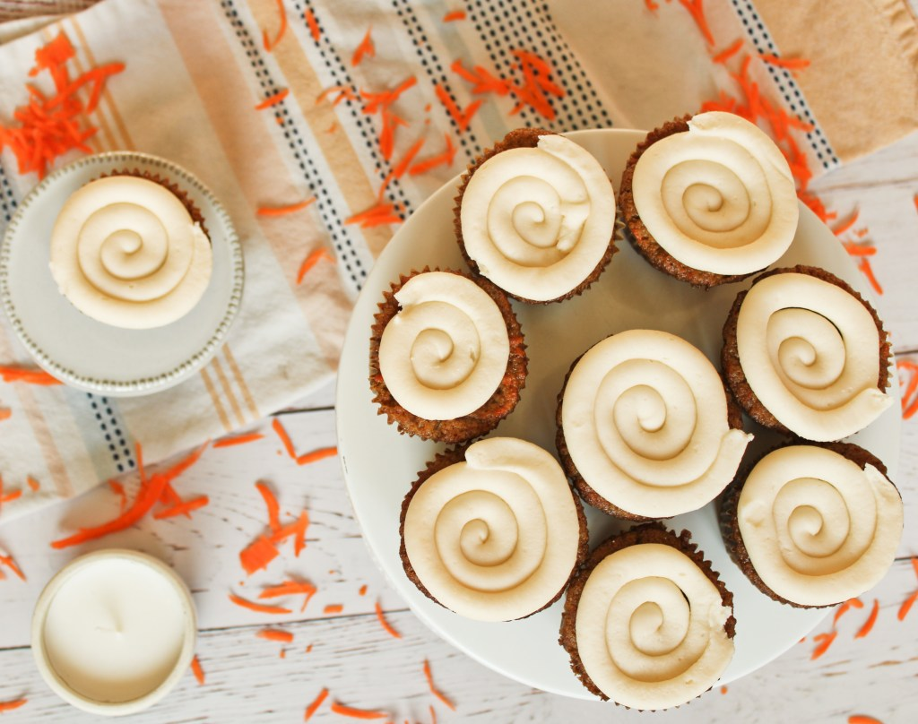 Spiced Carrot Cupcakes