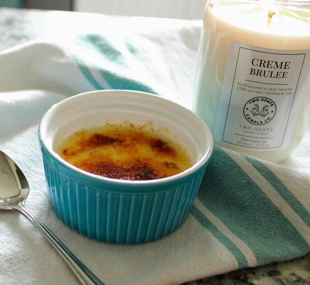 Egg-Free Crème Brûlée