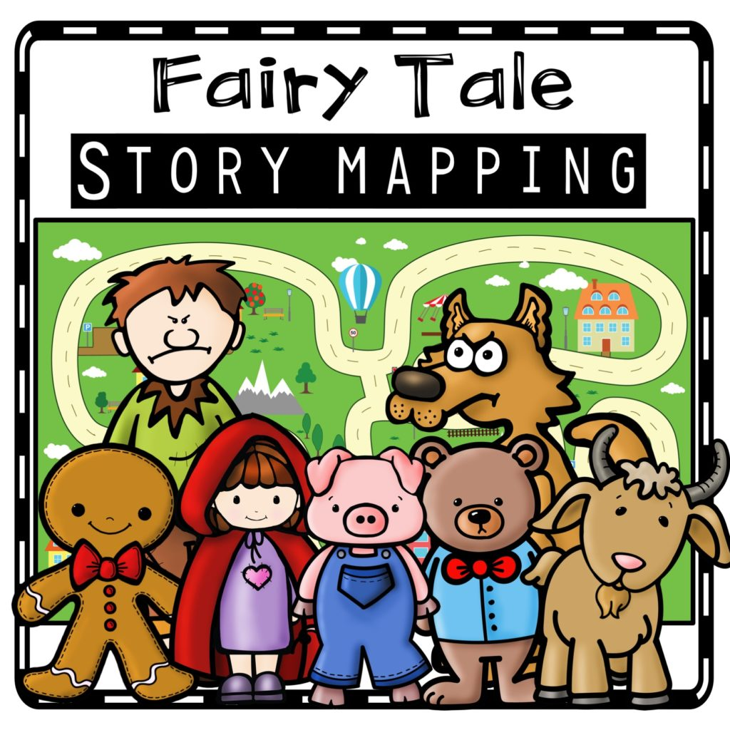 Story Maps Teaching With Fairy Tales In Kindergarten