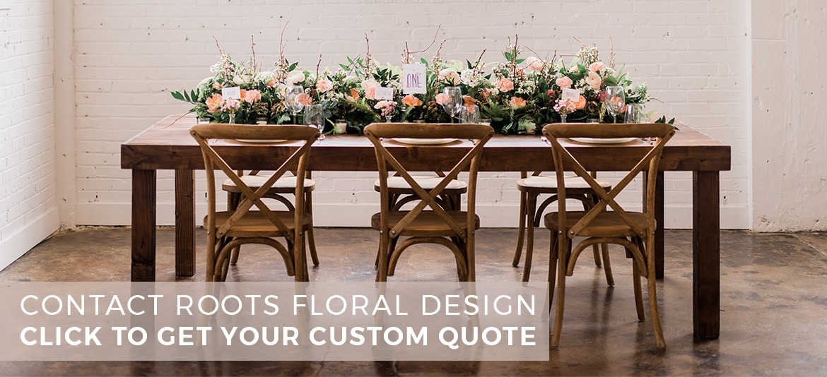 Click to contact Roots Floral Design about your special day