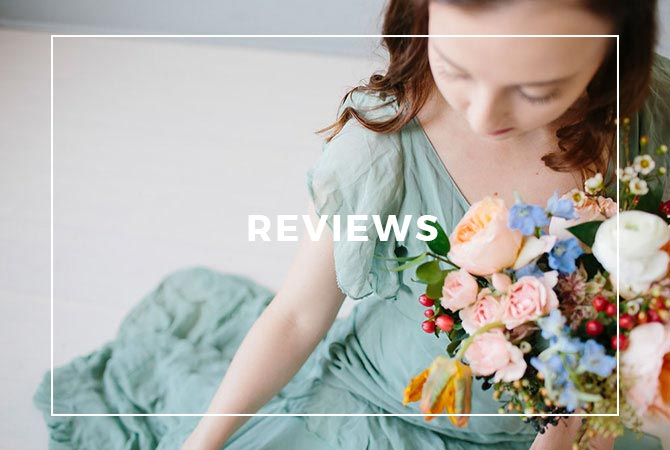 See what customers have said about our wedding floral designs!