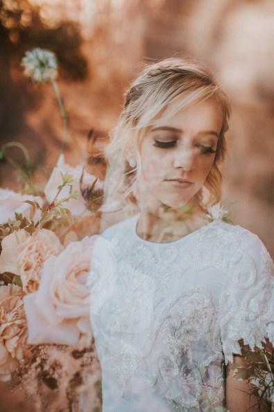 Double Exposure Bridals-Roots Floral Design