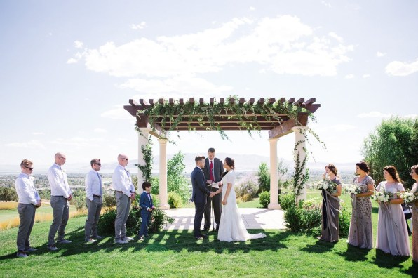 Summer Wedding by Roots Floral Design