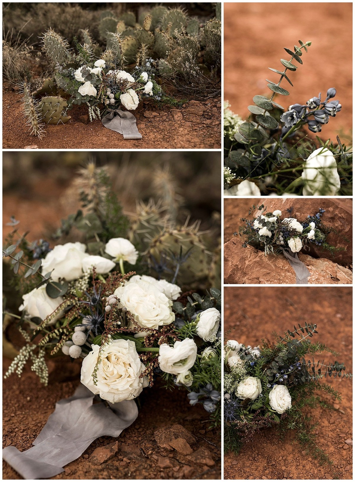 desert flowers bouquet desert wedding ideas