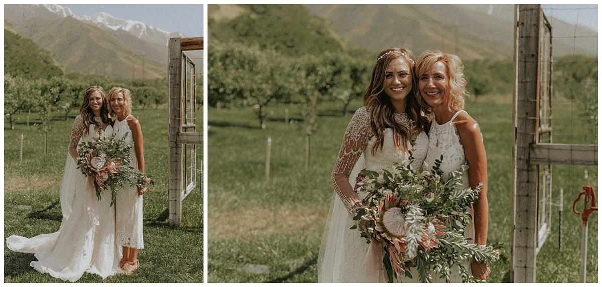Rustic Summer Wedding | Quiet Meadow Farms Wedding | Large Bouquet Idea
