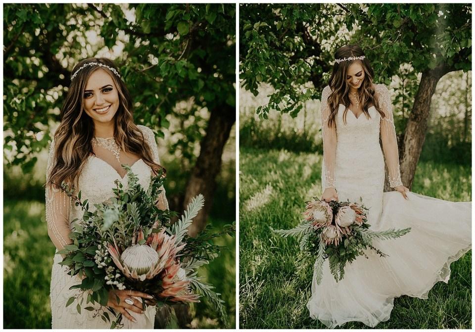Rustic Summer Wedding | Quiet Meadow Farms Wedding | Bouquet Idea
