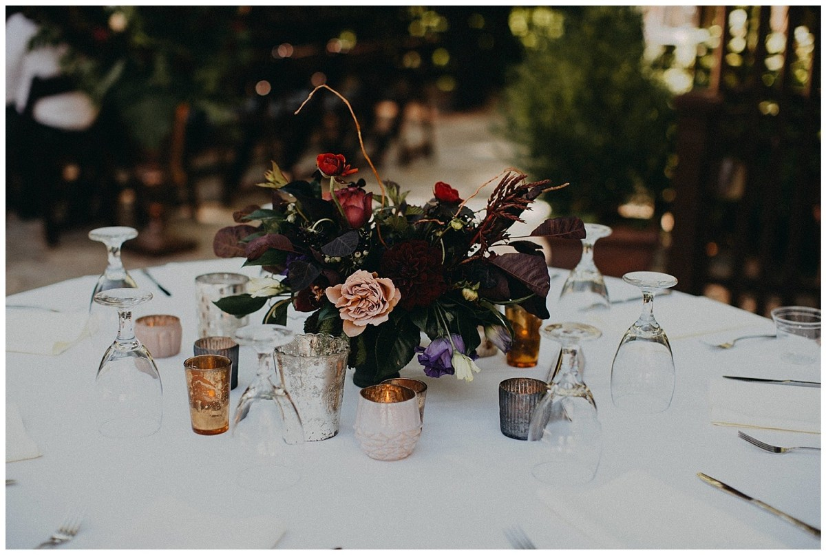 Moody Table Floral Centerpiece