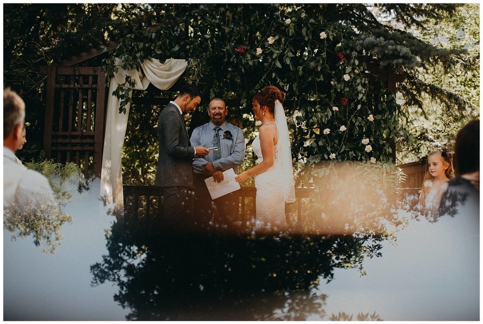 Moody and Boho Wedding