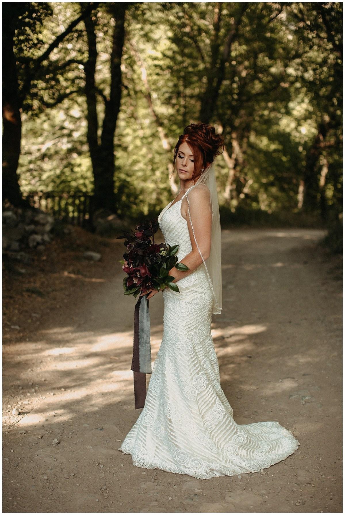 Boho Moody Wedding Kentucky Florist