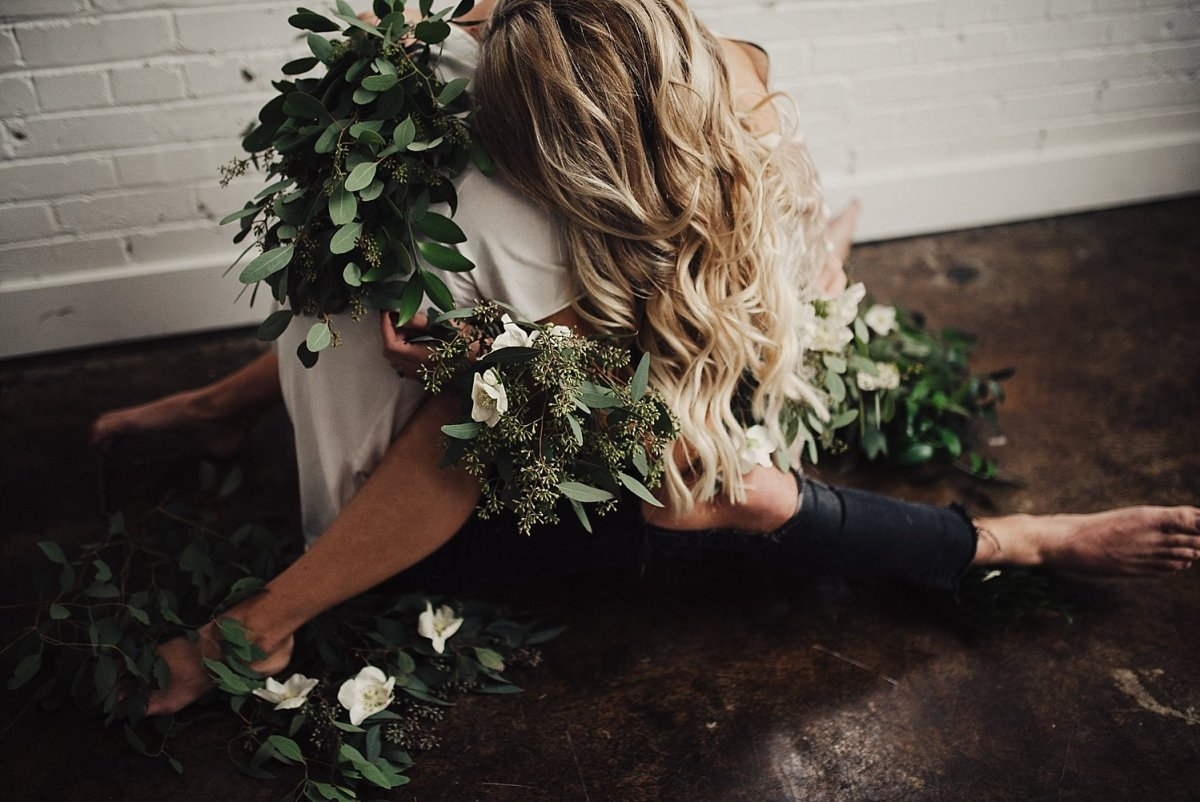 Why You Should Have Flowers at Your Engagement Session