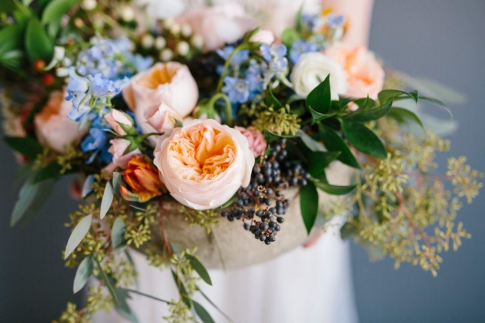 Colorful Bridal Bouquet | Ohio Wedding Florist