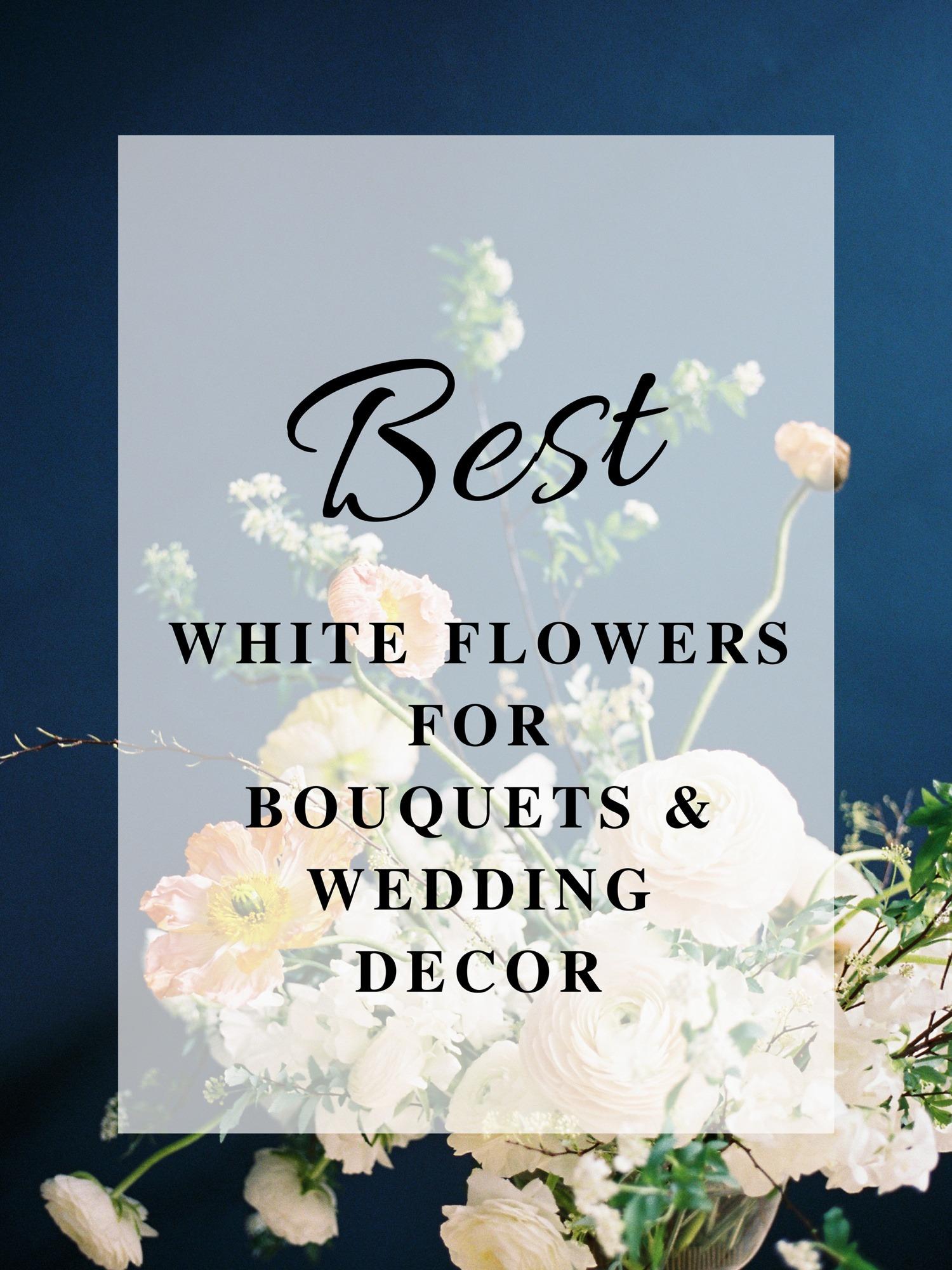 Best white flowers for bouquets and wedding decor ohio florist izmirmasajfo