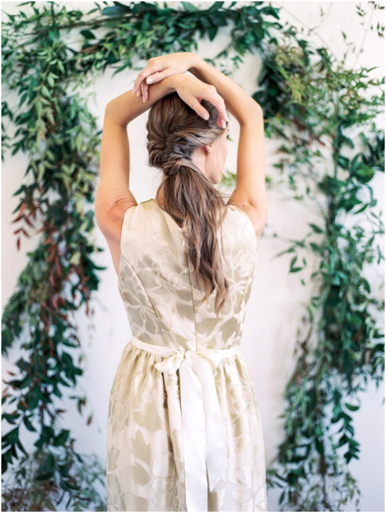 Greenery Styled Shoot Wedding Dresses