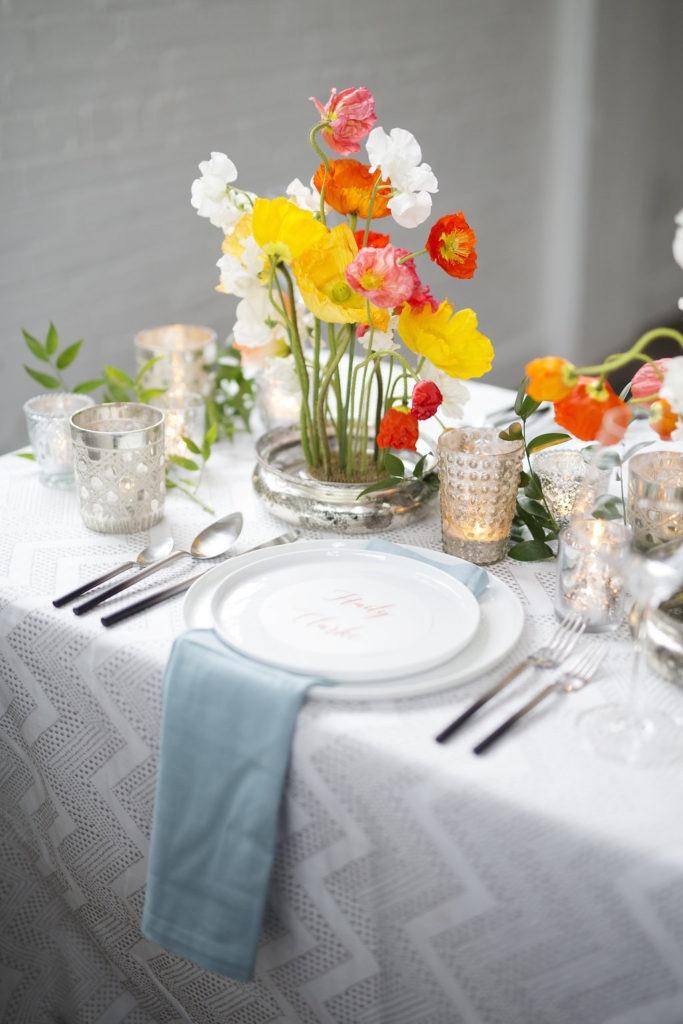 Colorful and Modern Wedding Style Artsy Wedding