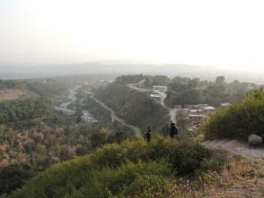 Mastram, Eva and the valley.
