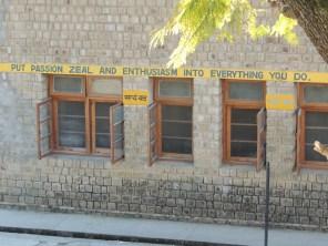 At the Girls School in Kacheri