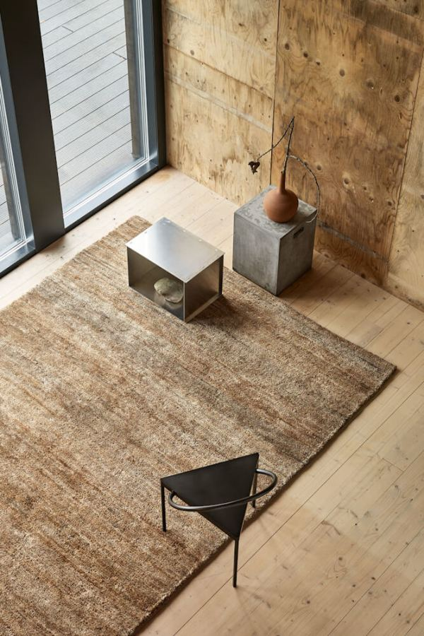 Natural Pile Hemp Rug interior