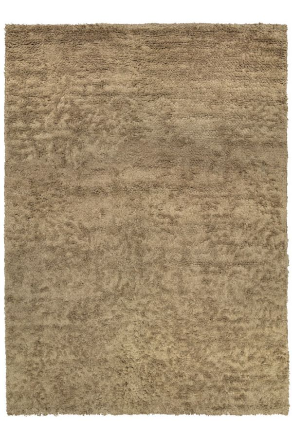 Natural Long Pile Linen Rug