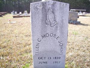 Ellen Moore's Grave in Paulding Co., Georgia, courtesy of FindAGrave.com