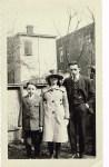 Frank, Mae and Gerald Thomas circa 1915 courtesy of cousin Paul
