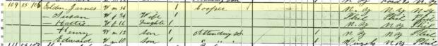 Isaiah Golden - 1880 Federal Census