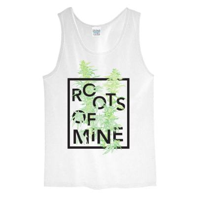 Remedy Tank Top White, Roots of Mine