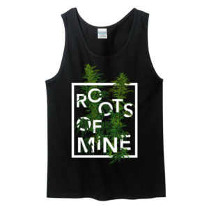 Remedy Tank Top Black, Roots of Mine