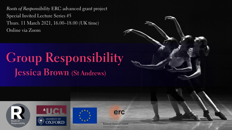 "Jessica Brown, ""Group Responsibility"" (RoR Spec. invited lecture #5)"