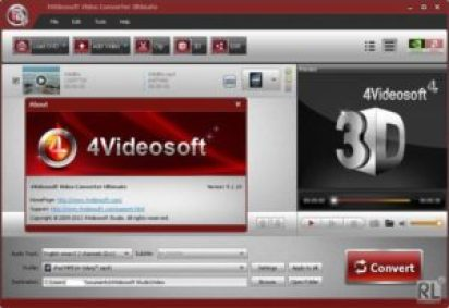 4Videosoft Video Converter Platinum 5.2.28 Crack [Multilingual + Ultimate]