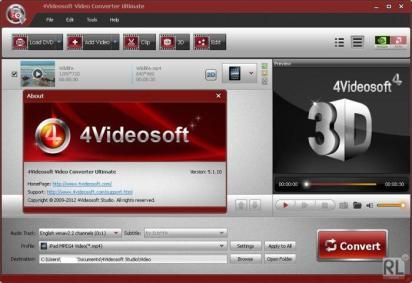 4Videosoft Video Converter Platinum 5.2.28 Crack [Multilingual + Ultimate]