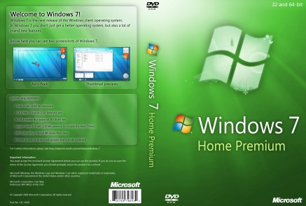 Windows 7 Home Premium Full Download ISO 32/64 Bit