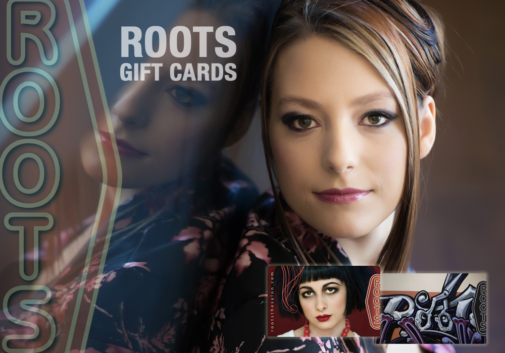 Roots The Salon, Gift Cards